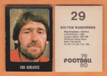 Bolton Wanderers Roy Greaves